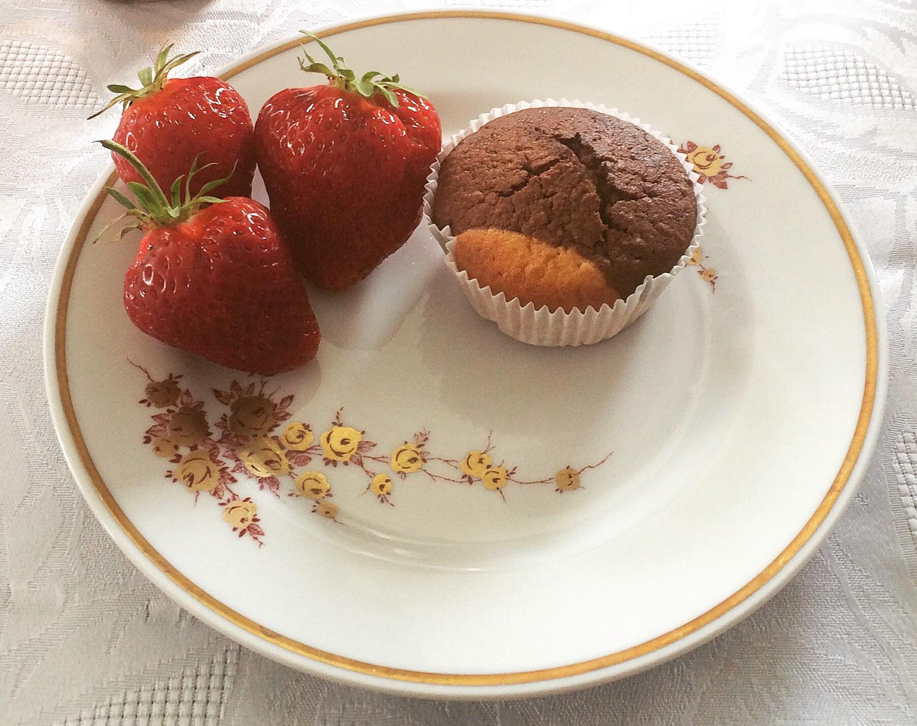 Glutenfreie Marmor Muffins