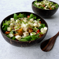 Salat Bowl mit Mozzarella