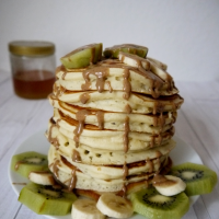Dinkel Buttermilch Pancakes