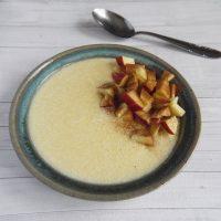 Glutenfreier Maisgrießbrei