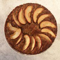 Glutenfreier Fitness Apfelkuchen