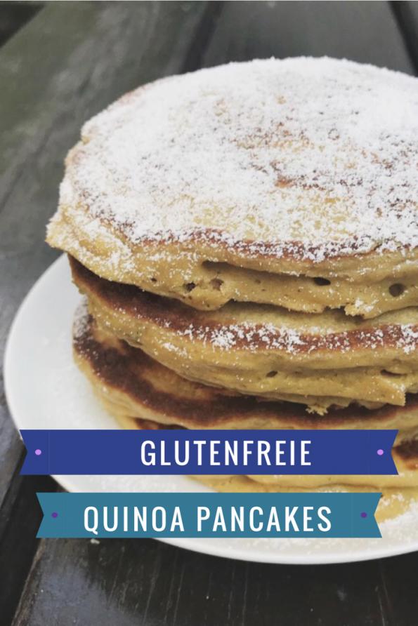 Glutenfreie Quinoa Pancakes