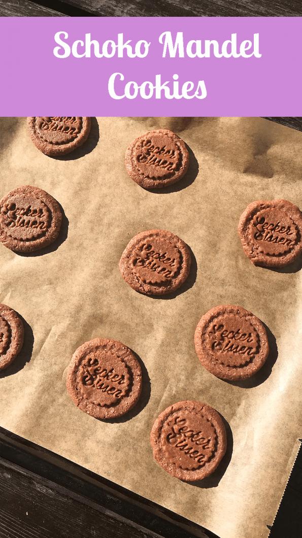 Schoko Mandel Cookies