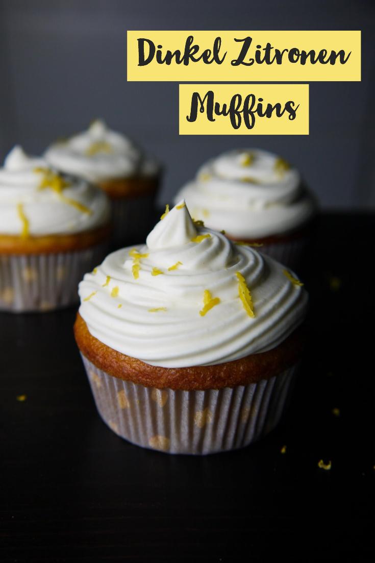 Dinkel Zitronen Muffin
