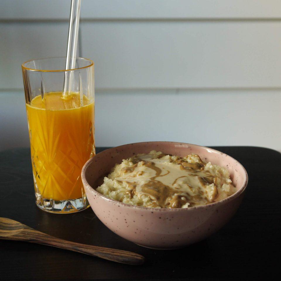 Porridge ohne Haferflocken