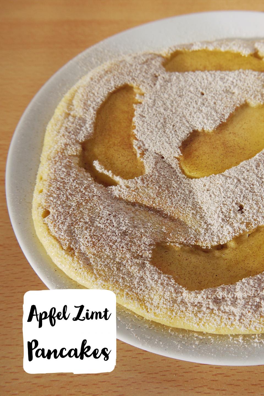 Apfel Zimt Pancakes