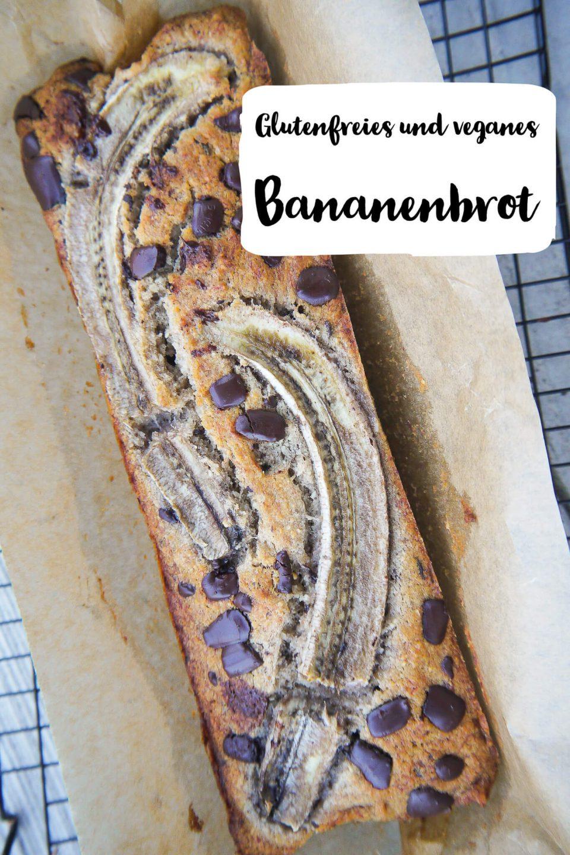 Glutenfreies und veganes Bananenbrot